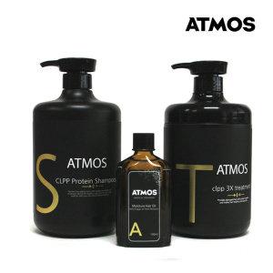 ATMOS 극손상모쓰리데이즈트리트먼트+샴푸+헤어에센스