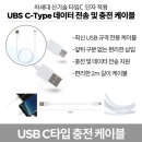 C-Type 데이터 전송 및 충전 케이블 (UC3177C2)