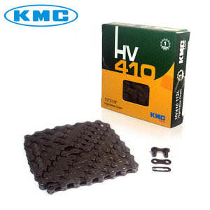 KMC HV410 1단 자전거 체인 체인링크포함