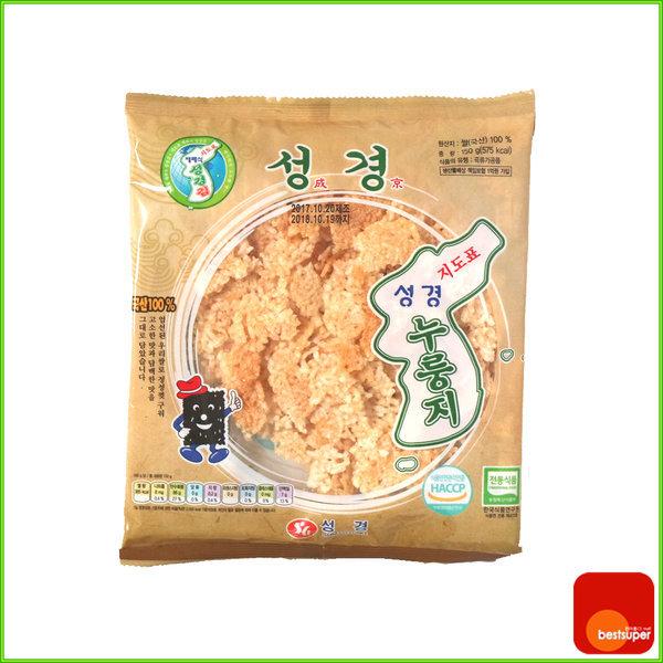 스낵/지도표/누룽지/국내산쌀/150g