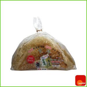 스낵/지도표/누룽지/국내산쌀/250g