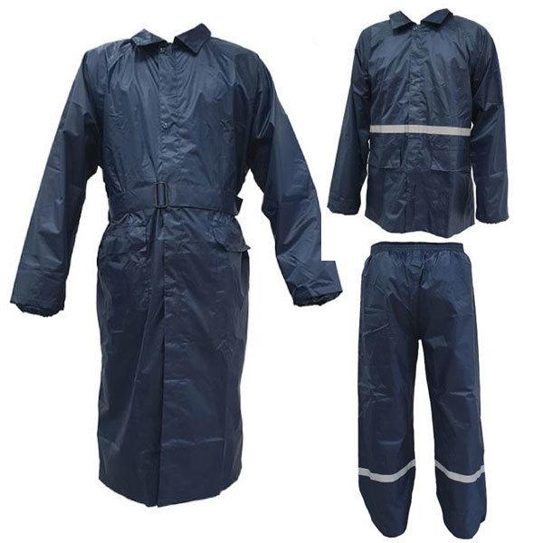신사우의 레인코트 코트식 상하 분리형 우의 비옷