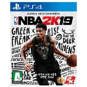 NBA2k19 (PS4) 한글판 중고