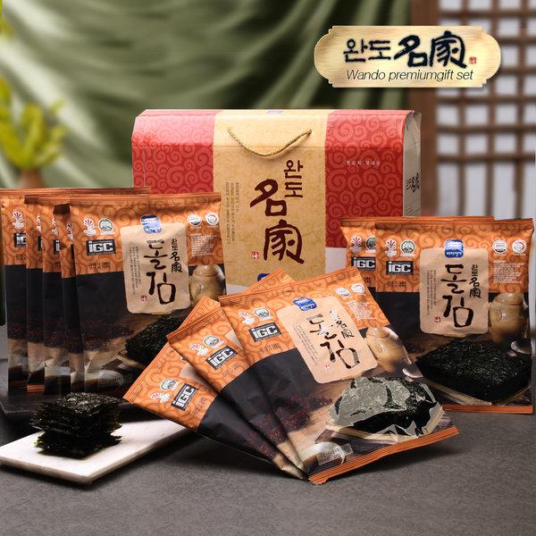 완도명가 구이김 선물세트 7매 10봉