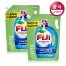 FiJi 파워젤 액체세제 프레쉬 리필 1.5L 2개