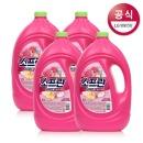 소프란 by 샤프란 섬유유연제 핑크 3.1L 4개