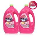 소프란 by 샤프란 섬유유연제 핑크 3.1L 2개