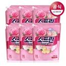 소프란 by 샤프란 섬유유연제 핑크 2.1L 6개