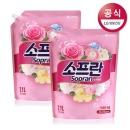 소프란 by 샤프란 섬유유연제 핑크 2.1L 2개