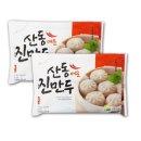 나래식품 산동 매운찐만두 180gX10개/찐만두/렌지