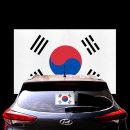 태극기 스티커 대형 1장/자동차량데칼/국기/악세사리