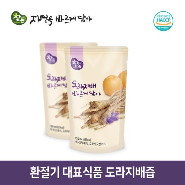본사직영/도라지배바르게담아/30포x120ml/도라지배즙