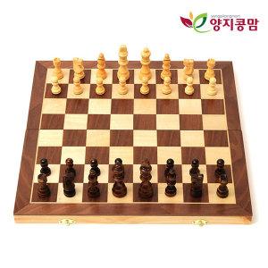원목체스 접이식 체스 CHESS  게임 체스판 일반형 대형