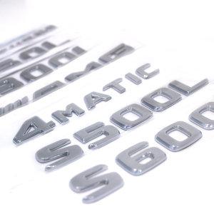 벤츠 레터링 엠블럼 GLE250 GLE350 GLE400 S63 S65 GL