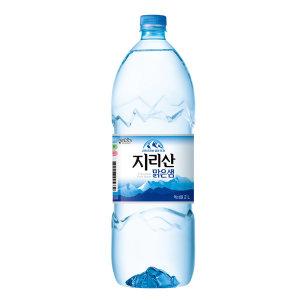 지리산맑은샘물2L/생수/물/팔도 샘물