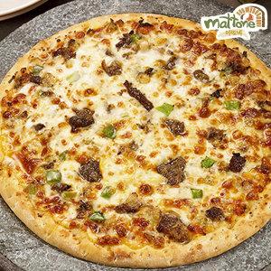 피자판매1위 마또네 자연치즈100% 불고기 피자