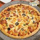 피자판매1위 마또네 자연치즈100% 콤비네이션 피자