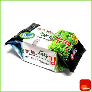 성경김/지도표/식탁용/녹차김/조각/17gx10봉