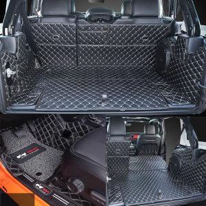 지프 랭글러 트렁크매트 매트 바닥 JL 사하라 루비콘