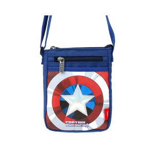 캡틴아메리카 방패 폰 크로스 아동 유아 어린이 가방