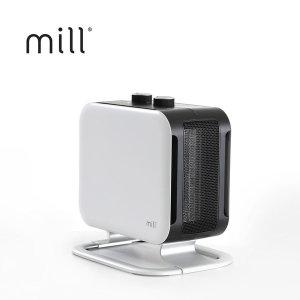 밀 북유럽 가정용 전기온풍기 전기히터 MILL1802PHW