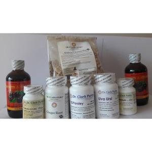 Dr Clark Kidney Cleanse set