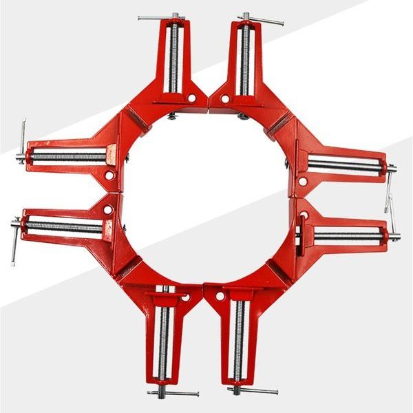 목공용 직각클램프 직각 바이스 90도 코너클램프 고정