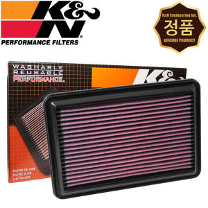 KnN KN 33-5016 순정형 흡기 습식 튜닝 에어필터 QM6