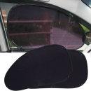 차량용 접착식 햇빛가리개 자외선차단 2P 1SET(맞춤형)