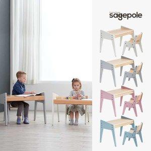 (현대Hmall) 세이지폴  북클레벤 유아책상세트-디자인선택/홈스쿨링