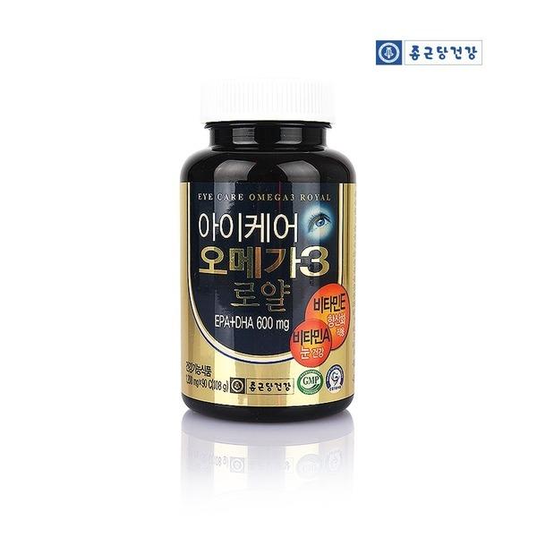 종근당건강 아이케어 오메가3 로얄 3개월분 혈행개선