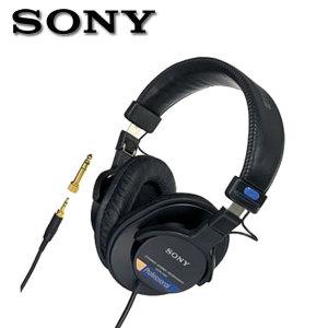 소니정품 MDR-7506 스튜디오 모니터링 헤드폰 밀폐형