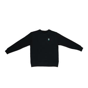 굿하비 맨투맨 티셔츠 Black Medium