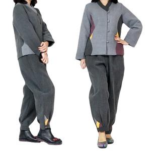 겨울 여성 여자 기모 누빔 생활한복 개량한복 법복