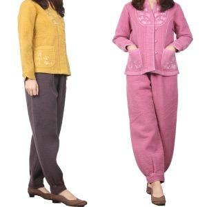 겨울 여성 여자 생활한복 개량한복 절복법복 두루마기