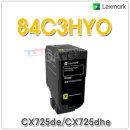 LEXMARK  노랑 정품토너 84C3HY0 (16000매) CX725de