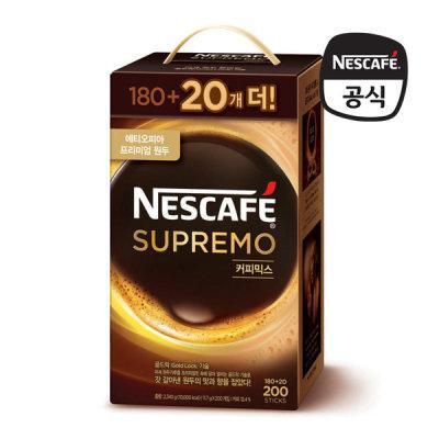 [네스까페] 네스카페 수프리모 커피믹스 180+20