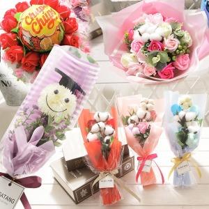 졸업식 입학식 재롱잔치 비누꽃 꽃다발 꽃배달 13종