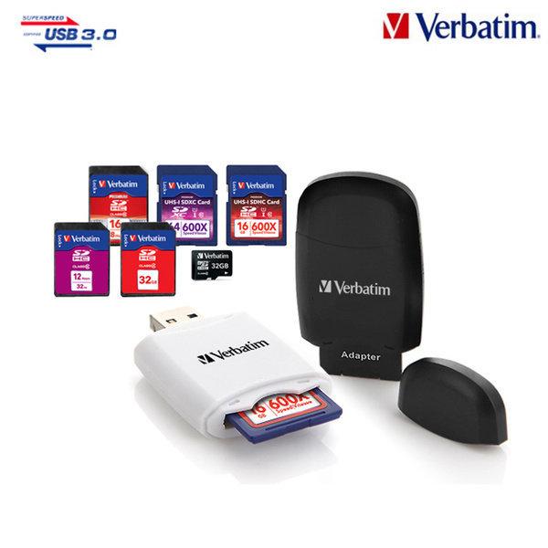 버바팀 USB3.0 미니 카드리더기 멀티카드리더기