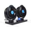 24V듀얼차량선풍기 차량용선풍기 자동차선풍기