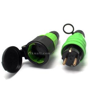 1구 방우 220V 방수 콘센트 플러그 고용량 산업용