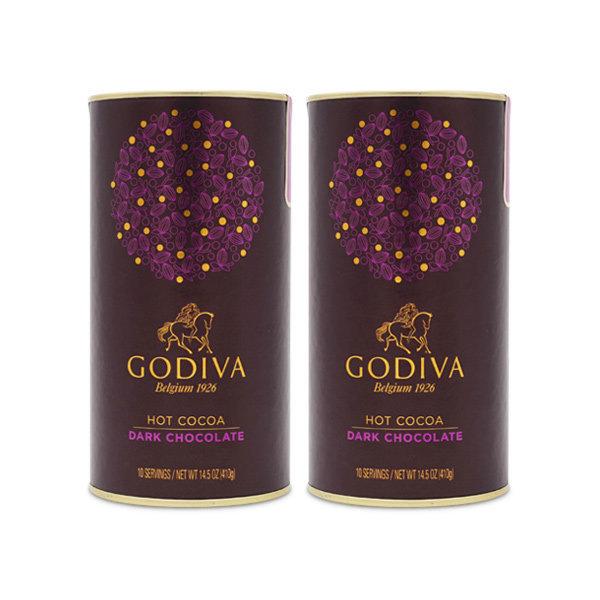 (스마일클럽)2개 고디바 프레즐 코코아 초콜릿 커피