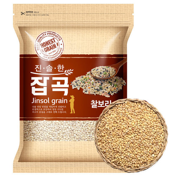 국산 찰보리 4kg (2019년산)