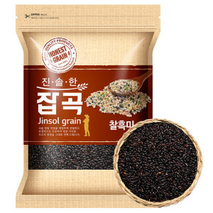 국산 찰흑미 4kg (2019년산) 진도산