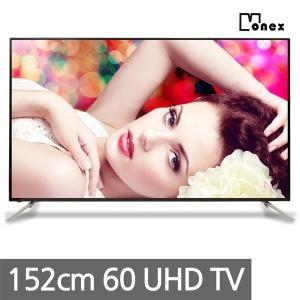 모넥스 UHD TV 152cm 60인치 티비 중소기업TV LED TV