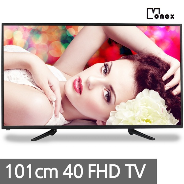 모넥스 40인치 Full HD LED TV 모니터 사용가능