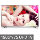 UHDTV 191cm 75 4K 티비 LED UHD 울트라HDTV 삼성패널Q