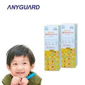 황사마스크 KF80 소형 40매 초미세먼지 어린이 유아