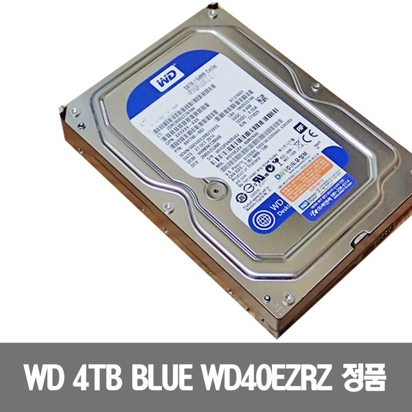 HDD WD 4TB BLUE WD40EZRZ SATA3 64M  PC 하드디스크