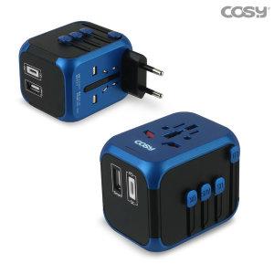 해외여행용 멀티아답터 PD(C타입) USB충전기 TA3349UP